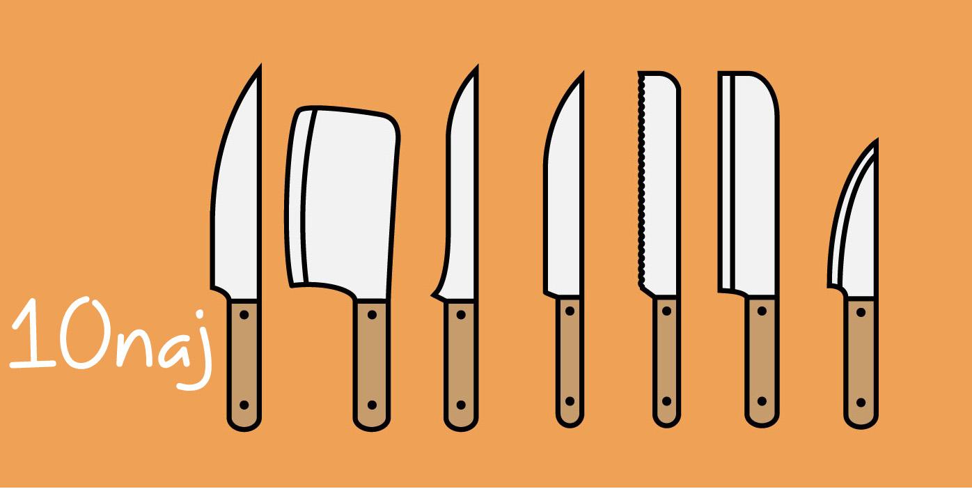Najlepšie kuchynské kuchárske nože