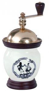 Vintage ručný mlynček na kávu lodos